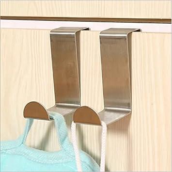doyeemei Schrank Handtuch Bar Schiene über Tür Haken Küche Handtuch ...