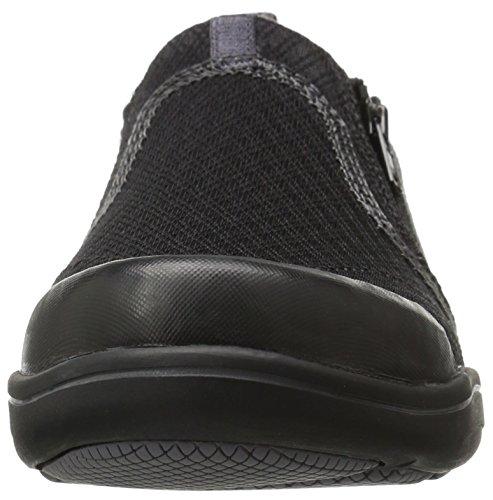 Grasshoppers Women's Elite Zip Fashion Sneaker, Black, US Black