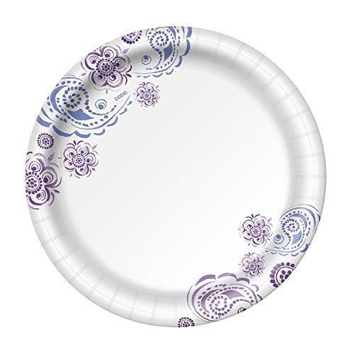 Dixie HD Paper Plates, 10 1/16 Inches, 88 Count