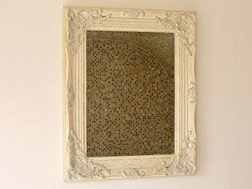 White Framed Mirror Amazon Co Uk