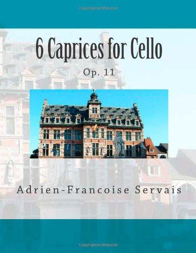 Download 6 Caprices for Cello: Op. 11 pdf epub