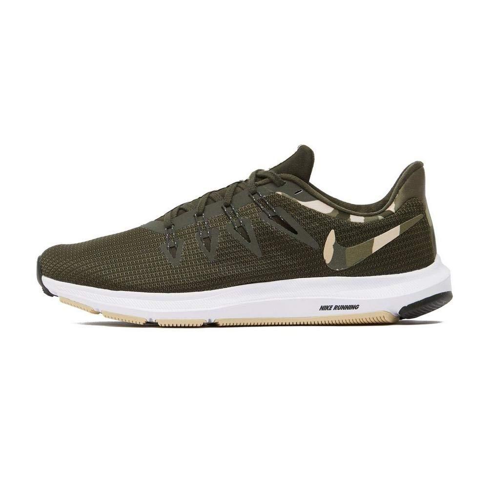 MultiCouleure (Sequoia Desert Ore Medium Olive 300) Nike Quest Camo, Chaussures d'Athlétisme Homme 49.5 EU