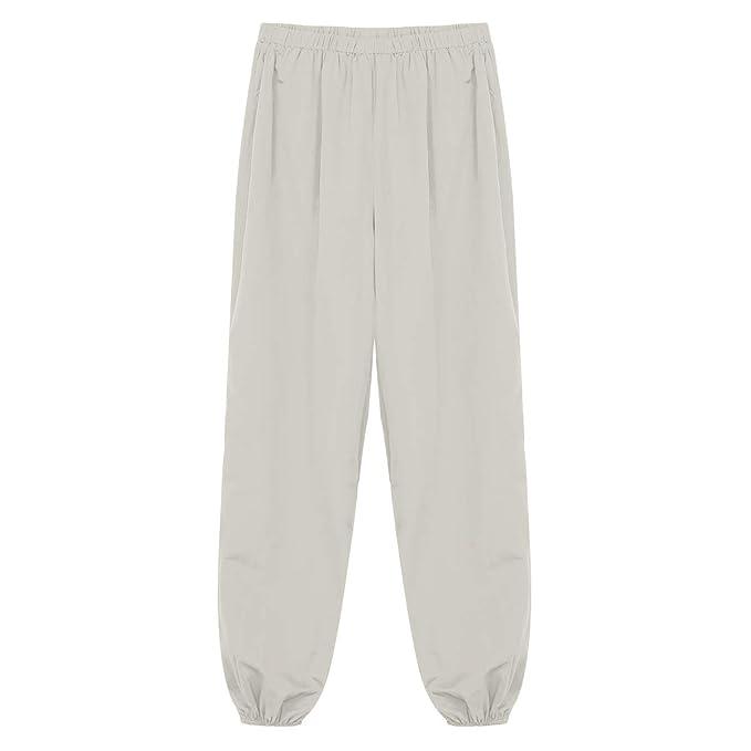 CHICTRY Pantalones Anchos de Pierna Mujer Pantalones de Yoga ...