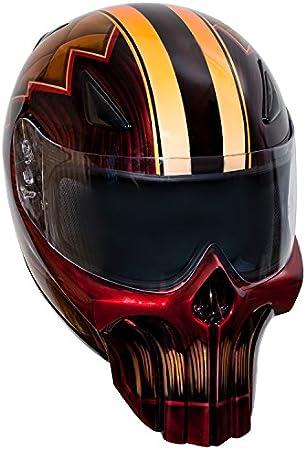 Punisher Sport Custom Motorrad Helm Auto