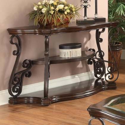 coaster-home-furnishings-traditional-sofa-table-dark-brown