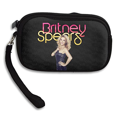 [MIT5 Adult Zippered Britney Spears Poster Coin Purse Card Case Wallet] (Britney Spears Costumes)
