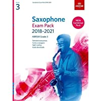 Saxophone Exam Pack 2018-2021, ABRSM Grade 3: Selected from the 2018-2021 syllabus. 2 Score & Part, Audio Downloads, Scales & Sight-Reading (ABRSM Exam Pieces)
