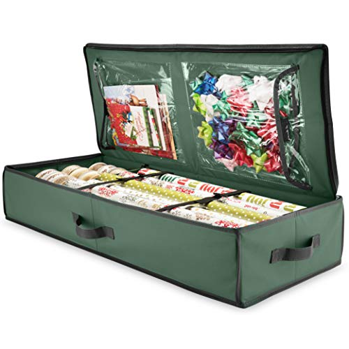 ZOBER Premium Wrap Organizer, Interior Pockets, Stores Up to...