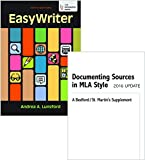 EasyWriter 5e & Documenting Sources in MLA Style: 2016 Update