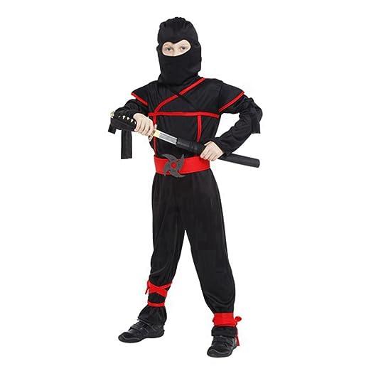 Amazon.com: Ninja Costume Sets Halloween Cosplay Dress Up ...