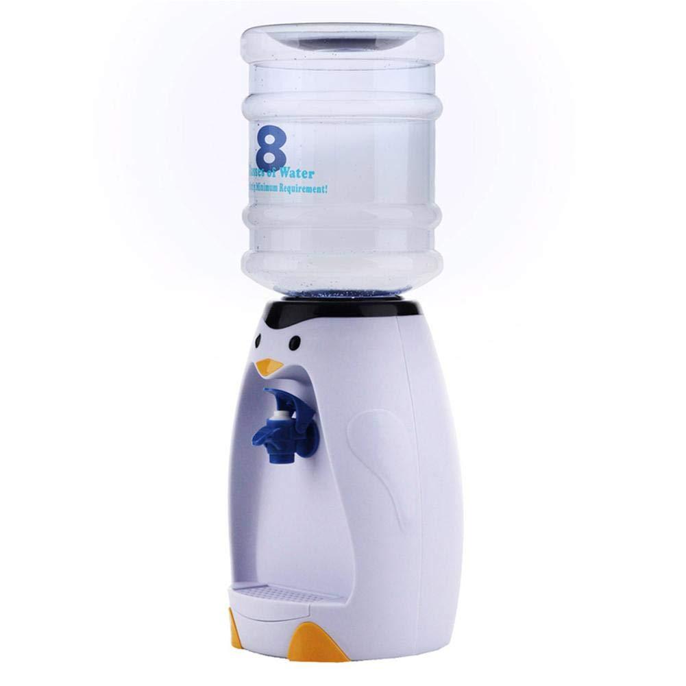 SUPERLOVE Mini Lindo dispensador de Agua de Dibujos Animados,Cartoon Penguin 8 Taza de Agua Dispensador de Agua Oficina Fácil de Llevar sin Calentar ...