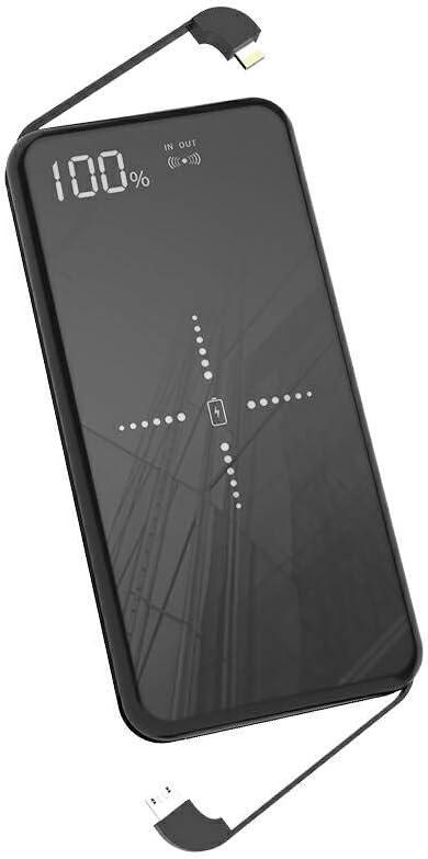 36 opinioni per Powerbank,Caricatore Wireless Power Bank 10000mah Caricatore Portatile Pannello