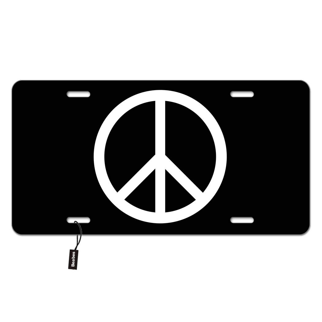 Novelty Front License Plate Decorative Vanity Aluminum Auto Car Tag 12 x 6 Inch