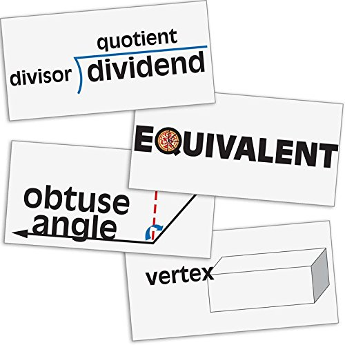 Really Good Stuff 158751 Math Vocabulary Word Wall]()