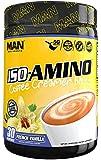 MAN Sports Iso-Amino Coffee Creamer Bliss BCAA Powder, French Vanilla, 210 Gram