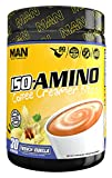 MAN Sports Iso-Amino Coffee Creamer Bliss BCAA Powder, French Vanilla, 210 Gram