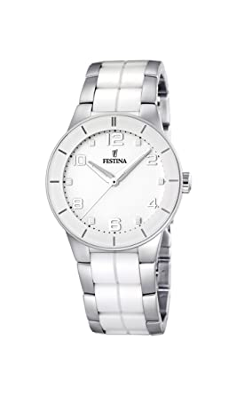 Festina Ceramic Collection Womens With Ceramic Elements