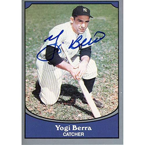 Yogi Berra New York Yankees Autographed 1990 Pacific Trading Card - Sports - Steiner Sports Certified from Sports Memorabilia