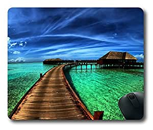 Wonderful Beautiful landscape Easter Thanksgiving Personlized Masterpiece Limited Design Oblong Mouse Pad by Cases & Mousepads