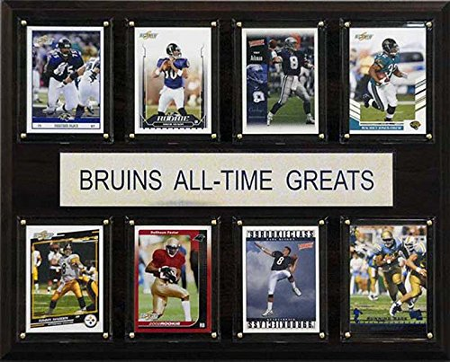 CandICollectables 1215ATGUCLA NCAA Football 12 x 15 in. UCLA Bruins All-Time Greats Plaque from CandICollectables