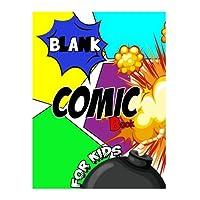 Cómic en blanco para niños: para dibujar sus propios cómics, bocetos de ideas y diseños, para artistas de todos los niveles.