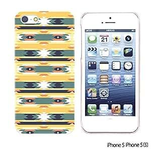 OnlineBestDigital - Geometrical Pattern Hardback Case for Apple iPhone 5S / Apple iPhone 5 - Funny Tribal Aztec Pattern