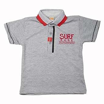 Little Kangaroos Boys T-shirt, Grey