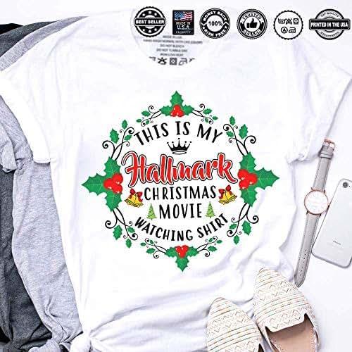217ab2e0f Amazon.com: This Is My Hallmark Christmas Movie Watching Shirt: Handmade