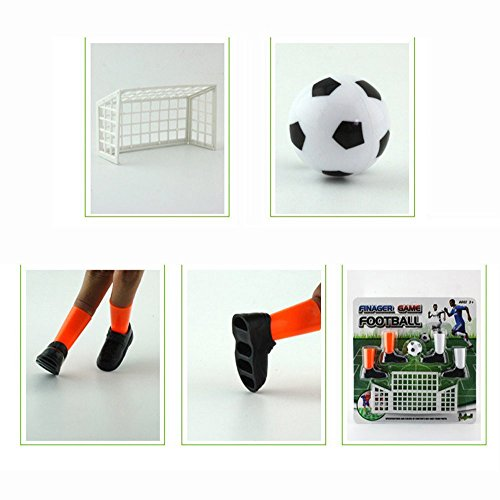 Price comparison product image Newdiva Finger Soccer Match Toy for Kids Over 6 Years Old - Ideal Party Finger Funny Finger Toy Game Sets Table Soccer Foosball Little Finger Soccer Match Toy Finger Game Sets Party Favors
