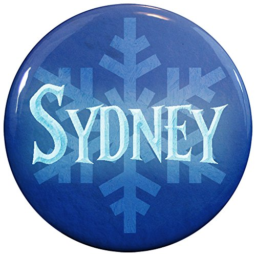 Buttonsmith® Sydney Winter Ice Name Tag