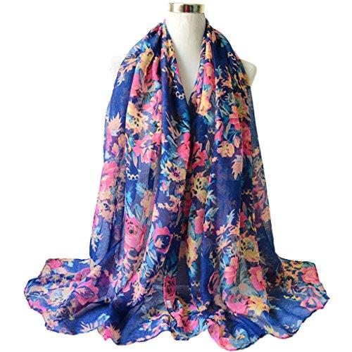 Dabixx Femmes Coton Linge Impression Foulards en Soie Foulard Châle en Soie  Hijab 6  Amazon.fr  Cuisine   Maison 5e54e146f0c