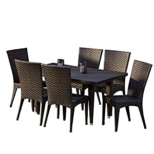 51xeGHfVb6L._SS300_ Wicker Dining Tables & Wicker Patio Dining Sets