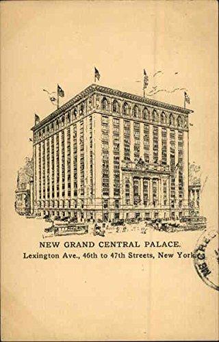 New Grand Central Palace New York, New York Original Vintage Postcard