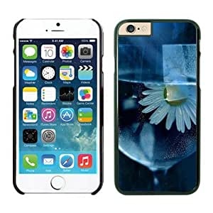 Iphone 6 Cases;cute Iphone 6 Case,daisy, Flower, Glass, Water Iphone 6 Plus Cases Black Cover by runtopwell