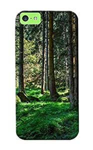 New Style Eatcooment Hard Case Cover For Iphone 5c- Spring Forest