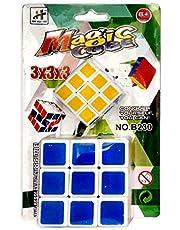 مكعب روبيك 3x3x3 عدد 2 مكعب بحجم كبير وحجم صغير