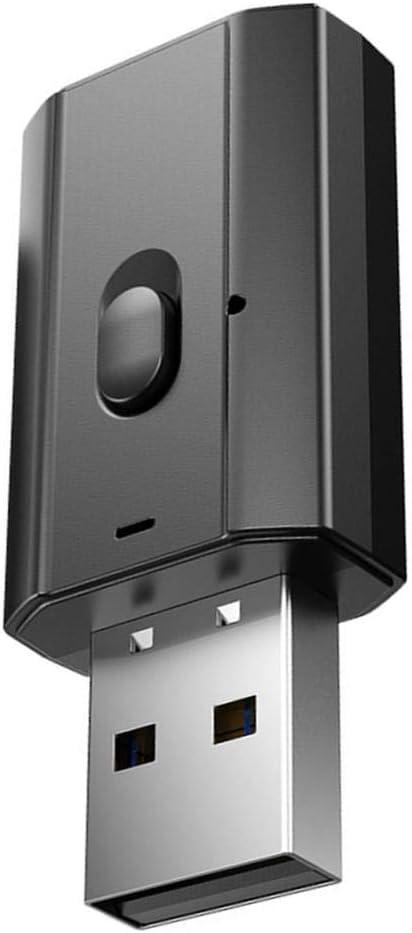Amuzocity Receptor Inalámbrico USB Bluetooth 2020 para Música de Audio en Casa Estéreo Auxiliar
