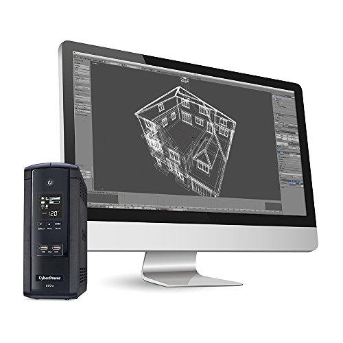 850VA with 510W, AVR, LCD, 2.1 USB