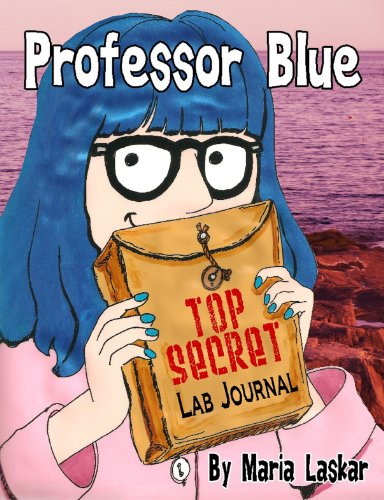 Professor Blue Top Secret Lab Journal