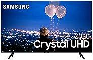 Smart TV Samsung Crystal UHD TU8000 4K 82, Borda Infinita, Visual Livre de Cabos e Wi-Fi - UN82TU8000GXZD&
