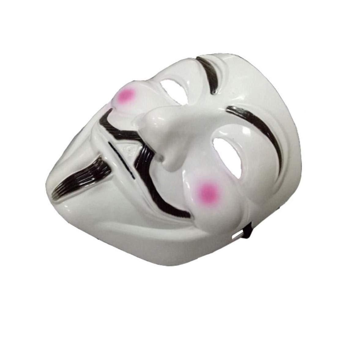Beito Mascherine del Partito V per Vendetta Maschera Viso Maschera Intera Anonymous Guy Fawkes di Travestimento di Halloween del Partito per Il Partito