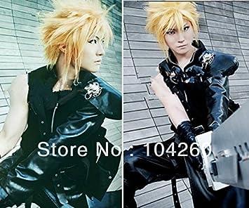 amazon com smile final fantasy vii cloud strife short blonde anime