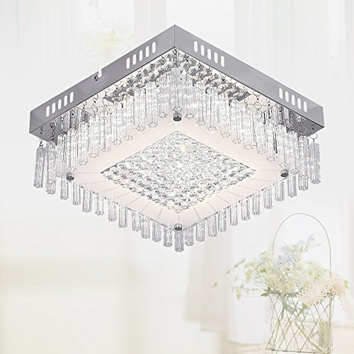 Modern 12 Light (Ceiling Light Flush Mount Ceiling Light Ceiling Lamp Pendant Light Chandelier Dimmable LED Modern Ceiling Light Fixture Bedroom Light Bulb Included 11'' 1980 Lumens 2835 Chip High Bright)