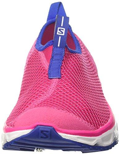 de Asfalto Running 3 White Yarrow para 0 Moc The Web Salomon 000 Surf para Mujer RX Rosa Zapatillas Pink wY86X4