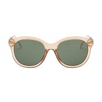 BiuTeFang Gafas de Sol Mujer Hombre Polarizadas La Tendencia de los Hombres y Las Mujeres Gafas