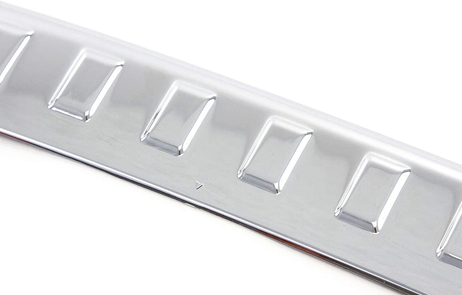 Rear Bumper Protector Cover Scratch Exact Compatible with 2014-2020 Nissan Rogue Tailgate Trim Cover Custom Chrome