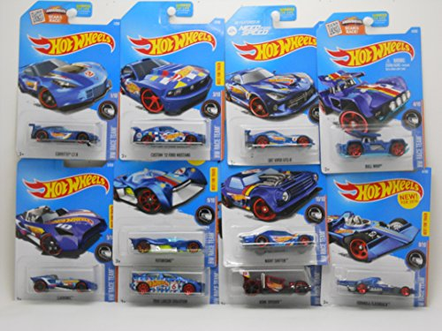 Hot Wheels 2016 HW Race Team Mini Collection Set of