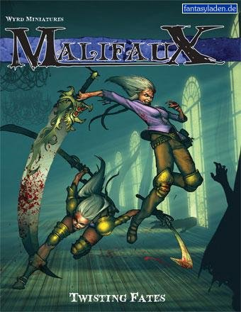 - Twisting Fates Malifaux Expansion Rulebooks