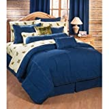 American Denim Twin XL Bedding Set - Comforter, Shams
