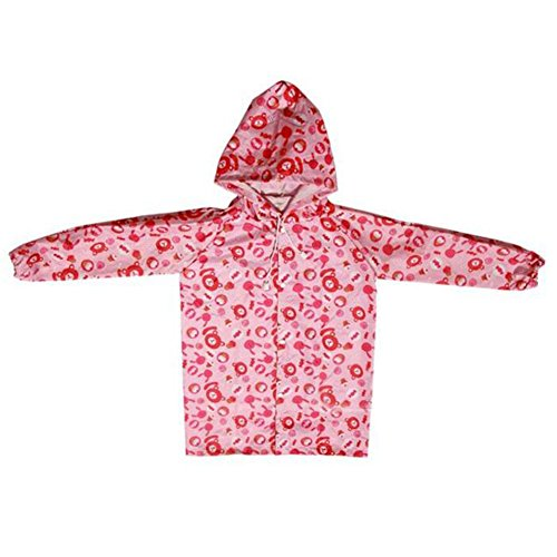 Highdas Kid Boys & Girls Regenboot Regen Schuhe Wasserdichte Stiefel PVC Rosa Erdbeere / 15cm Rosa Bär